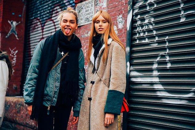 10. Kabanlarda, sweatshirt ve kazaklarda renk blokları çok ama çok moda.