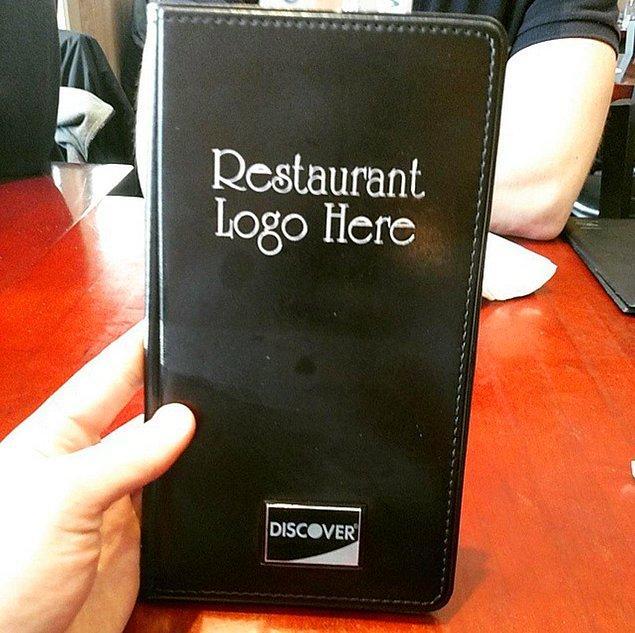 """7. """"Restoranın legosu burada olacak"""" ve:"""