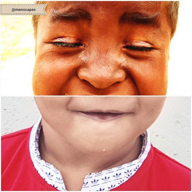Sonuç olarak rengi, dini, yaşı ve cinsiyeti karma bir şekilde ortaya konulan çocukları görmek bizi de gülümsetiyor. ✏