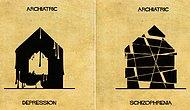 16 Mental Illnesses And Disorders Illustrated In Architectural Forms!!