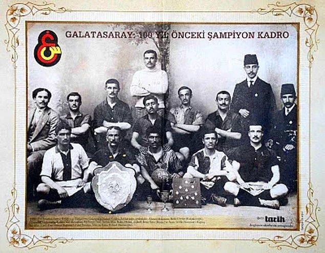 2. İlk resmi Türk futbol takımı Galatasaray'dır.
