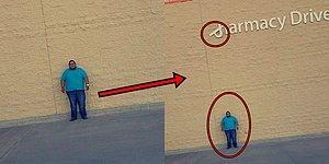 Чтобы подать в суд, этот парень часами стоял над свисающей вывеской супермаркета Wal-Mart