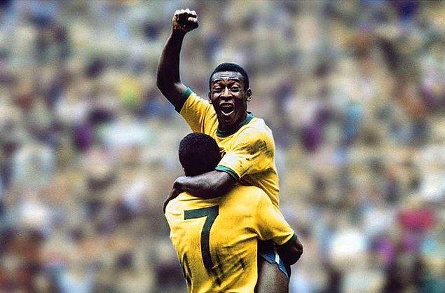 En çok gol atan futbolcu Pele (1281 gol)