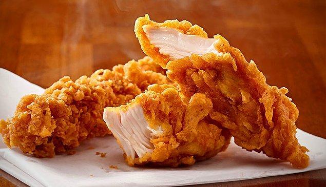 10. Hem cips hem tavuk, tam bir aşk evliliği!
