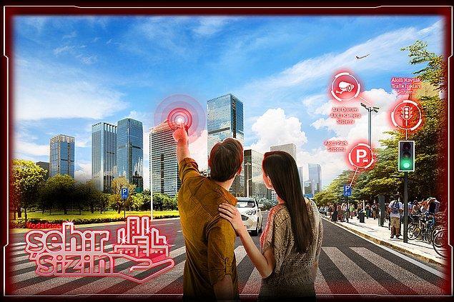 Sizin de şehriniz artık akıllı! Vodafone Akıllı Şehirler online platformu sehirsizin.com ile siz de şehrinizle ilgili fikirlerinizi paylaşın, şehrinizin geleceğinde söz sahibi olun.