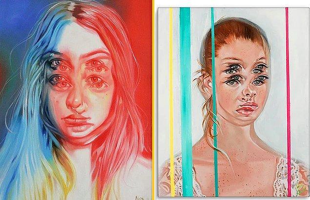 İşte Alex Garant'ın hipnotik portreleri…