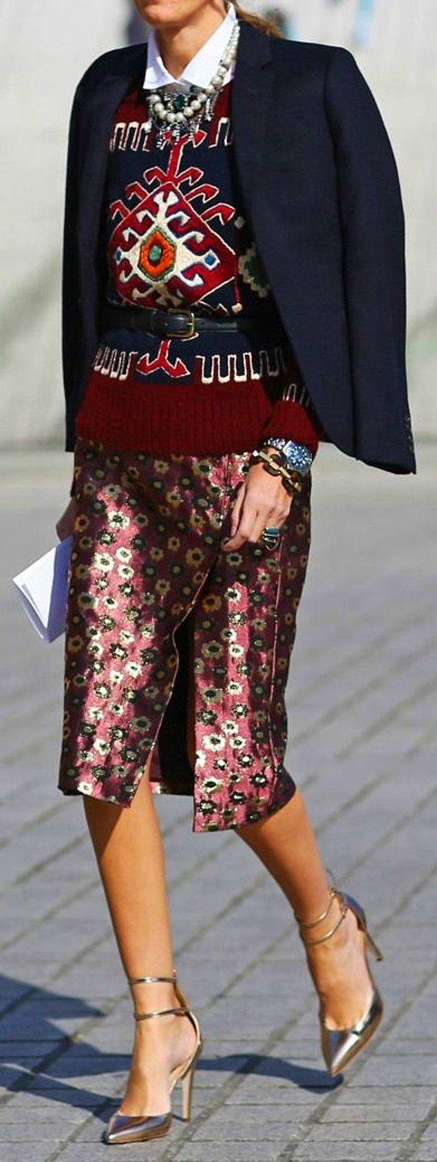 Siz de Gigi'ye ve diğer pek çok moda duayeninin çağrısına kulak verin.