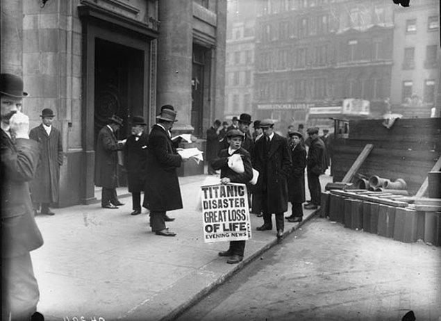 4. Titanik Felaketi
