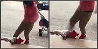 Шок: Мать пнула собственного младенца, потому что он плакал