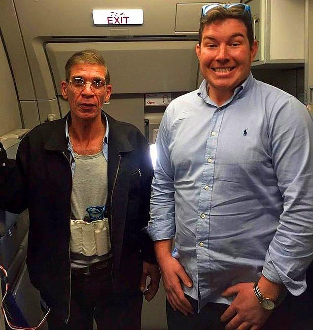 5. Uçağı kaçıran hava korsanı her zaman yakalanmaz, bulduğun an çekeceksin selfie'ni tabii