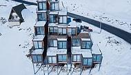 В горах Грузии построили отель из грузовых контейнеров!