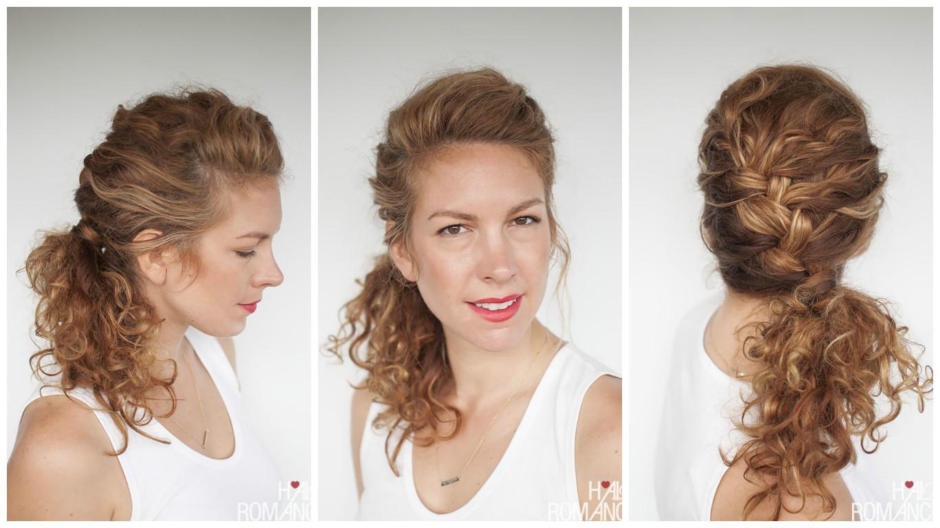 Прически с вьющими волосами фото