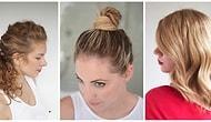 10 причесок, на которые уйдет не более 17 минут: для тех, кто терпеть не может долго укладывать волосы