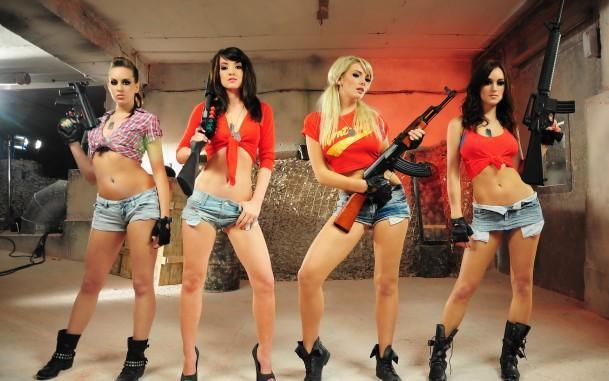 фото опасных девушек