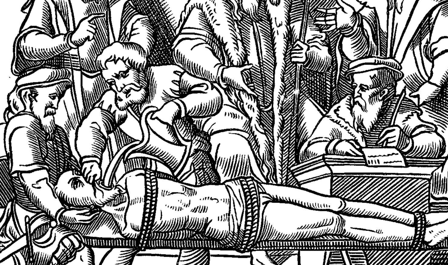Сексуальные пытки на востоке