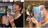 20 примеров, как развлекают себя сотрудники книжного магазина, когда им скучно