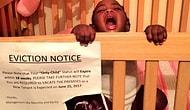 Веселая мама рассказала всем с помощью уведомления о выселении из кроватки, что ждет второго малыша