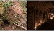 Обычная на вид кроличья нора оказалась 700-летним храмом Тамплиеров!