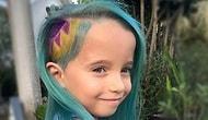 Мама решила сменить прическу своей 6-летней дочери, сделав ее похожей на русалку