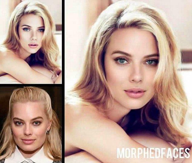2. Scarlett Johansson ve Margot Robbie