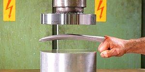 What Happens If You Crush Adamantium With A Hydraulic Press?