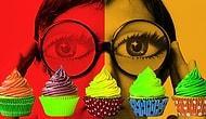 Отличить эти капкейки друг от друга смогут только люди с идеальным цветовым зрением