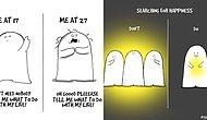 Artist Illustrates Struggle Of Being Alive With 20 Relatable Comics!
