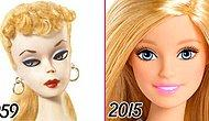 From Zombie To Barbie: The Evolution Of Barbie In 66 Years!