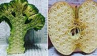 Узоры на продуктах от японского художника вызывают у людей неожиданно отрицательные эмоции