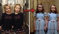 İkiz Kızlarıyla 'The Shining'den Sahneler Canlandırarak Otellerde Milleti Korkutan Baba