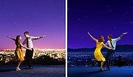 Admiring Photos Of The Couple Who Used The Theme Of La La Land