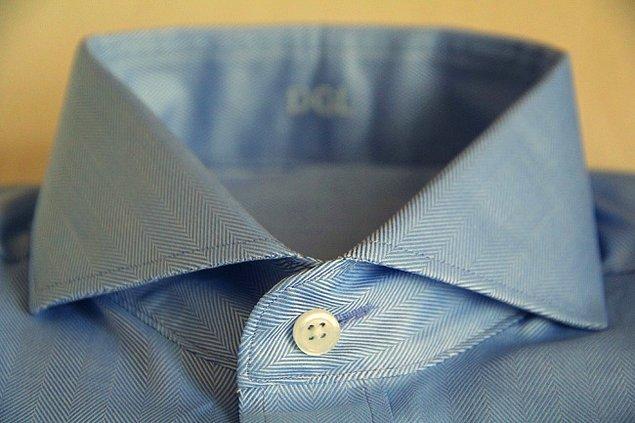 4. Gömleğinizin en üst düğmesi için olan yatay ilik: