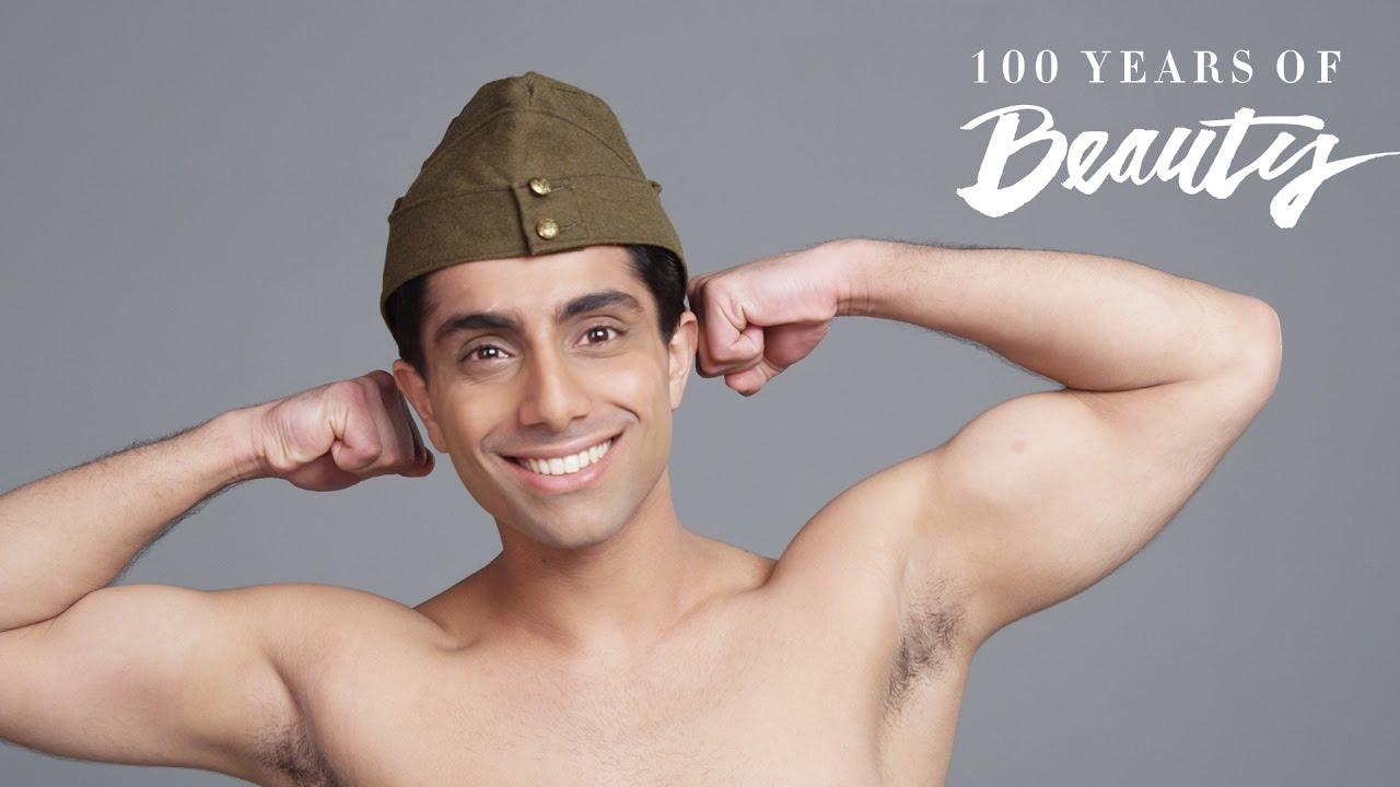 Amazing Video Shows How Indian Male Beauty Trends Have