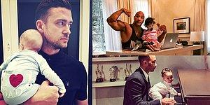 40 Photos Of Hot Celeb Dads With Their Cutie-Pie Kids!