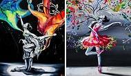 Всплеск эмоций в полете танца: чувственные рисунки прекрасных балерин