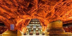 20 станций метро в Стокгольме, дизайн которых вас точно удивит!