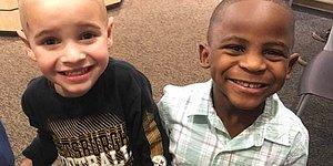"These 5-Year-Old Best Friends Got The Same Haircut To ""Confuse"" Their Teacher!"