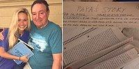 Дедушка подарил 16-летней внучке 3 тетради, заполненные их общими воспоминаниями, и все плачут от умиления