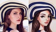 Знаменитости в образе очаровательных мультяшек от талантливой российской художницы