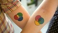 15 креативных идей татуировок для влюблённых