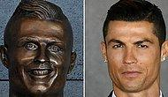 Yet Another Hilarious Photoshop Battle: This Time It's This Weird Bust Of Cristiano Ronaldo!