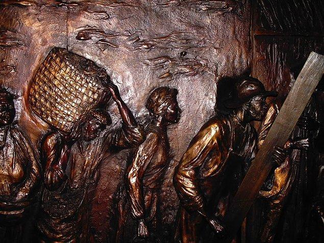 Ekonominin kayıt altına alınmaya yeni başlandığı MÖ 3500-3000'de, işçi ve kölelerin yevmiyeleri çan biçimli devrik ağızlı çanaklarla ölçülürdü.