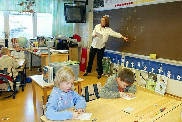 """1. """"Finlandiya, ülkemizin eğitim sistemini örnek almaya karar verdi."""""""