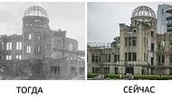 Удивительное возвращение к жизни: Хиросима после сброса бомбы Vs. Сейчас