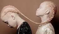 Бразильские близнецы-альбиносы ворвались в мир фэшн-индустрии