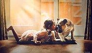 True Emotions: 16 Heart-Warming Photos Of This Mother's Daughter And Dog!