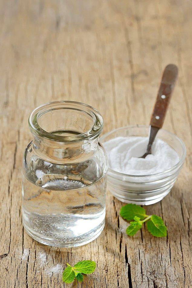 11. Tuz ile ağız yıkama suyu yapmaya ne dersin?