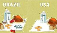 How Many Groceries Can You Buy With 20 Dollars Around the World?