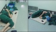 Фото китайского хирурга, спящего в коридоре больницы, взбудоражило Интернет!