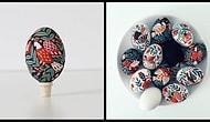 Народные мотивы в росписи пасхальных яиц